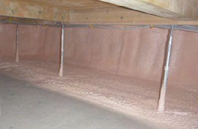【郡山市久留米・ドミノK邸 】 しっかり施工 床下断熱と空気循環:画像