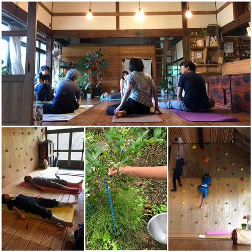 里山日記・・・ヨガ先生が自宅に:画像