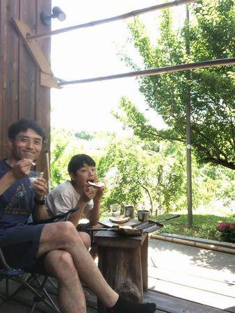 里山日記・・・ワイルドストロベリーで朝食を♪:画像