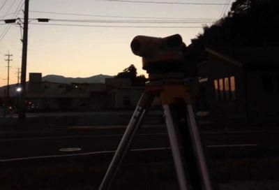 「二本松市・I邸」 夕焼けに染まる安達太良山に望みを叶える誓い:画像
