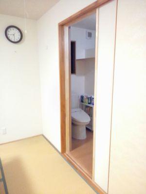 「相馬Yさんの家」 寝室トイレ直行ルート開通:画像