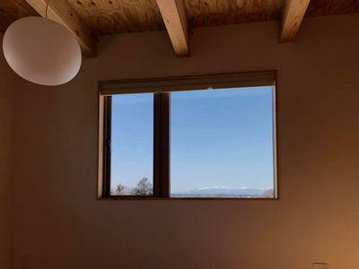 【郡山市田村町・ドミノS邸 】 雪と青空と那須甲子連山を眺めて、土地探しを思い出す:画像
