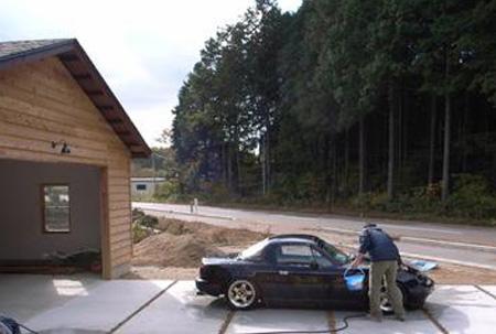ガレージライフを満喫  柴田さん(新地町):画像