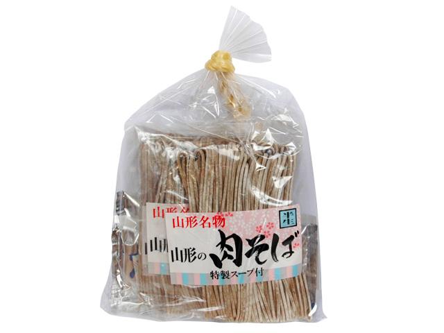 山形名物「山形の肉そば」特製スープ付 780円:画像