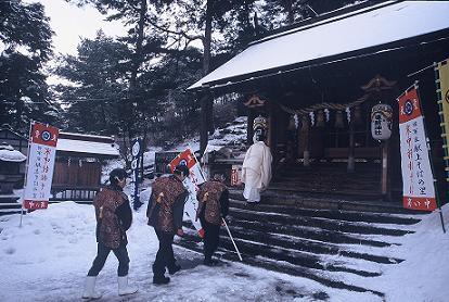 ☆天童冬の陣 寒中挽き抜きそば奉納奉告祭・賞味会☆