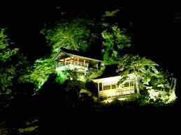 秋の山寺ライトアップツアー運行♪♪
