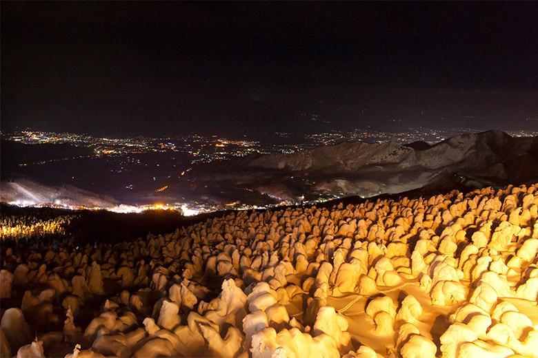【12/23~】蔵王樹氷のライトアップが始まります!