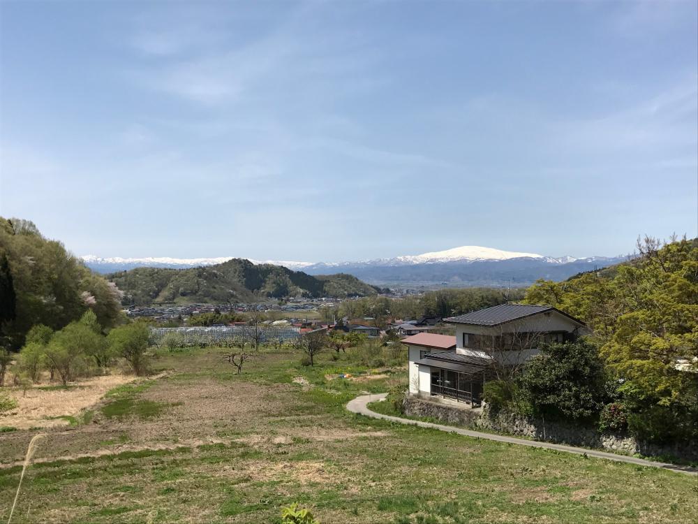 今日は晴れ!月山、朝日連峰まで綺麗に見渡せます:画像