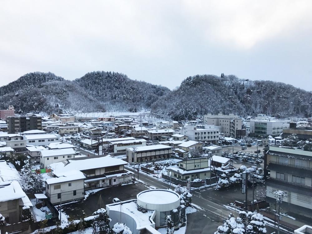 今日の天童の積雪情報[12/13]:画像