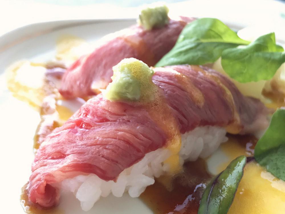 【3月限定】山形牛寿司&お子様特典付のお得プラン♪
