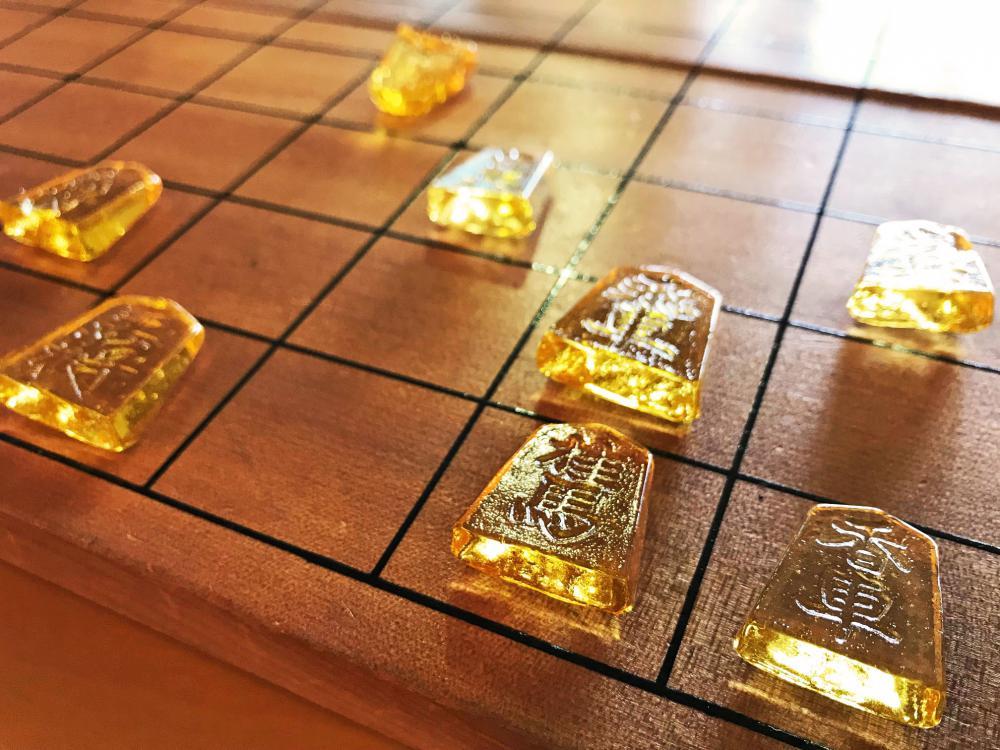 【お土産におすすめ!】スイートな将棋駒で一局!?