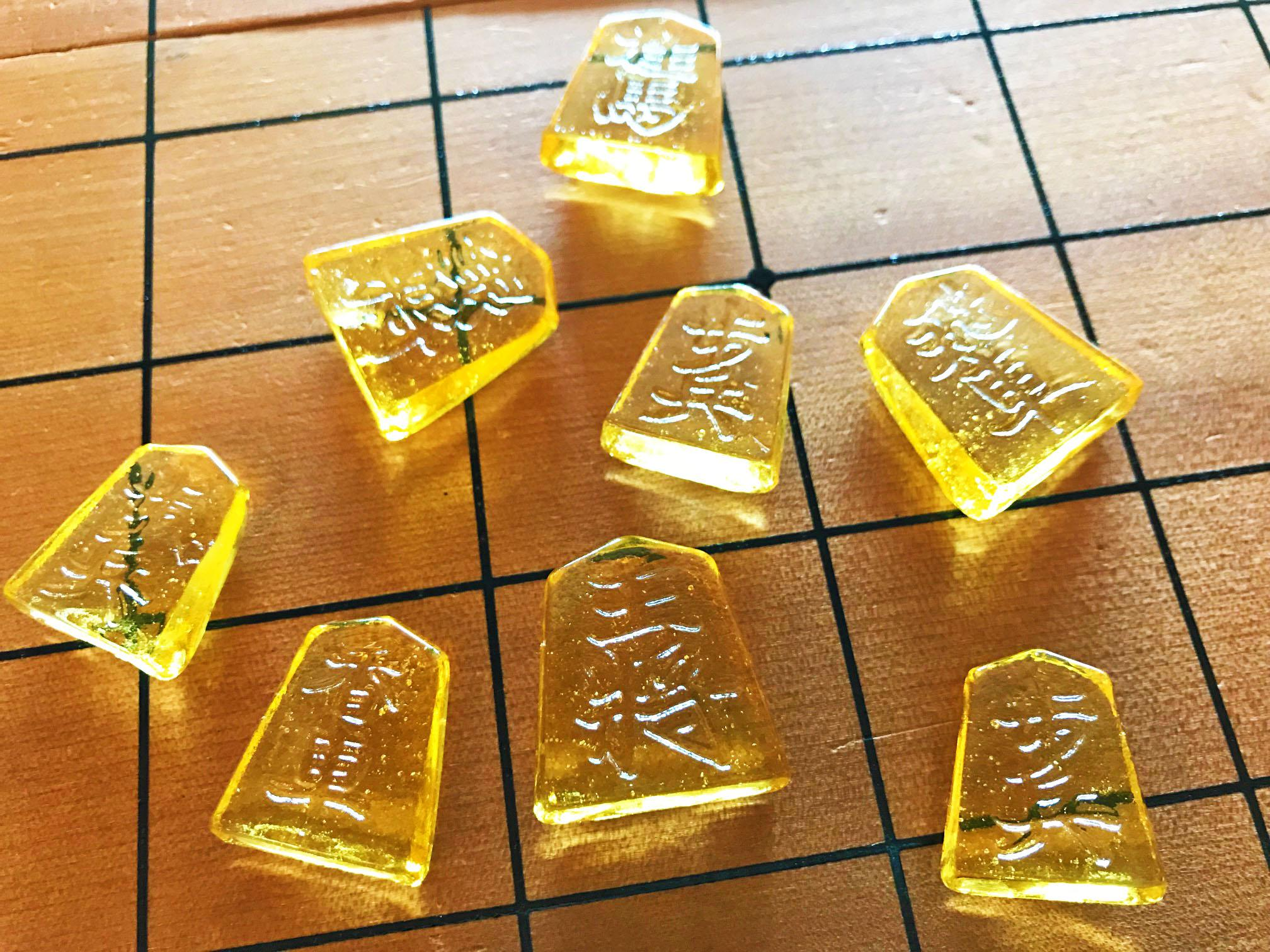 [we recommend to Gifts!] It is one station with sweet shogi piece?