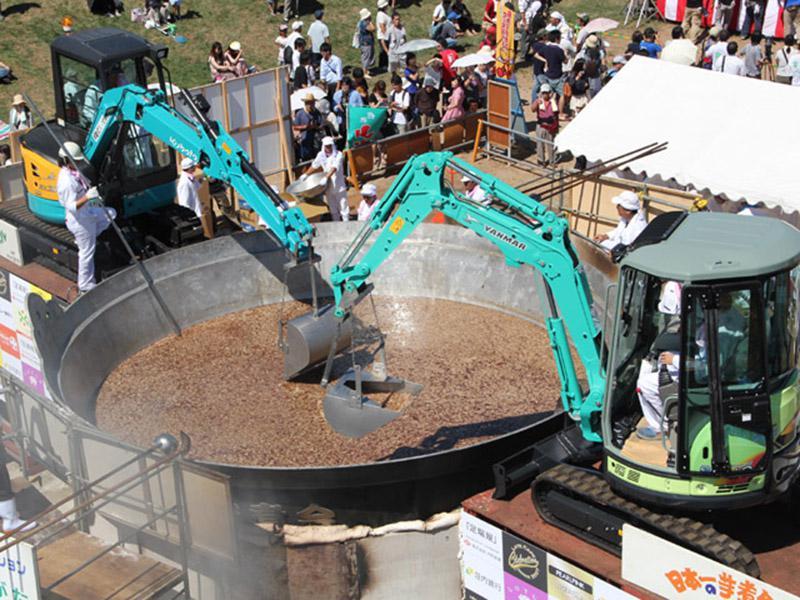 【9/15】天童温泉バスツアー運行!『日本一の芋煮会フェスティバル』:画像
