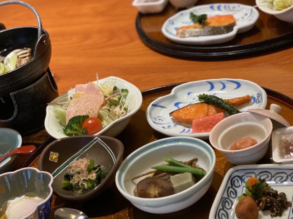 和食膳の朝食とお子様朝食セット♪