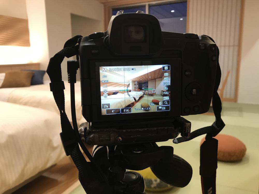 リニューアル客室の写真撮影♪オープンまであと6日!:画像
