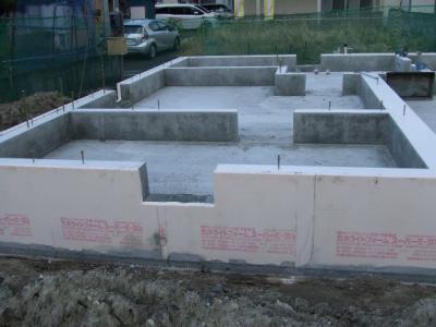 多賀城市T様邸基礎工事完了:画像