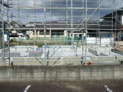 多賀城市T様邸足場工事完了:画像