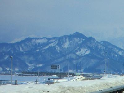 ◆文殊山がかすんでいます。    @@@:画像