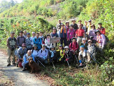 ◆秋の文殊山登山会無事終了◆