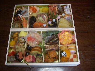 ◆おせち料理いただきました。◆