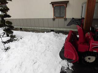 ◆ようやく恵みの雪です。◆