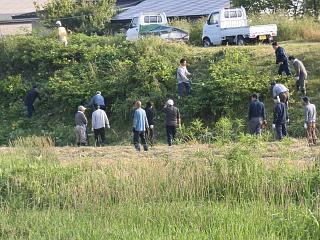 ◆今年も屋代川草刈りを行いました。◆