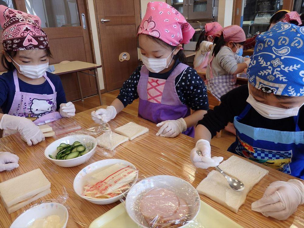 2月22日 お楽しみ会DAY2(ゆり組レストラン) その1