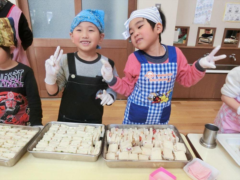 2月22日 お楽しみ会DAY2(ゆり組レストラン) その2
