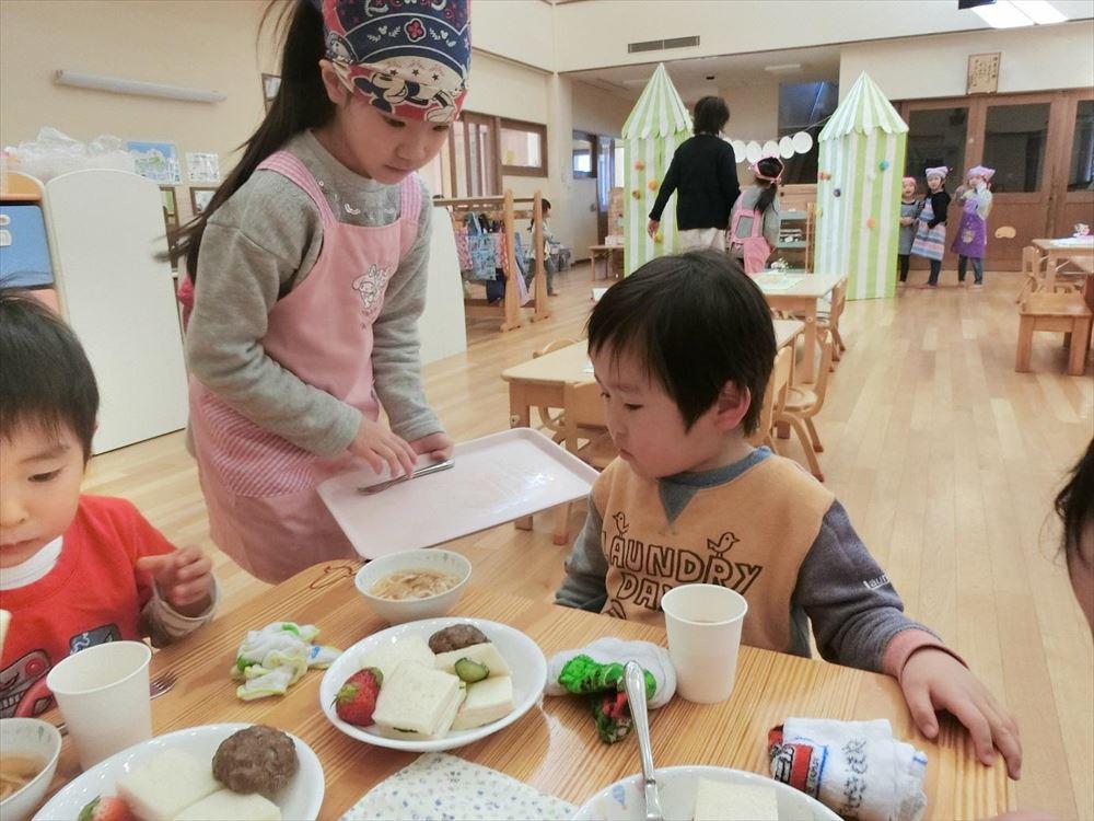 2月22日 お楽しみ会DAY2(ゆり組レストラン) その3