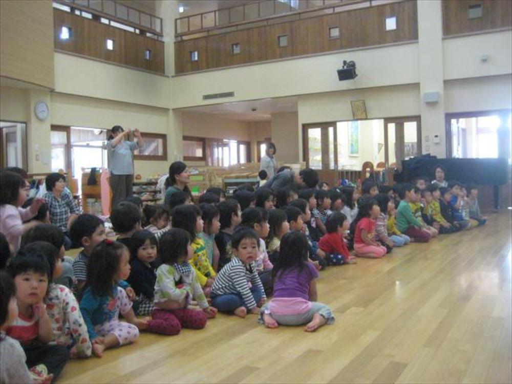 5月14日 三友堂看護専門学校実習生