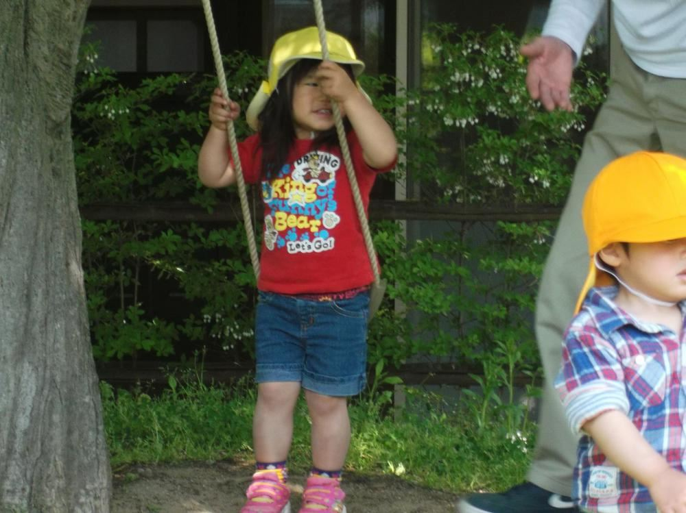 5月11日 保育参加 その2 (1.2歳児 うめ組.もも組)