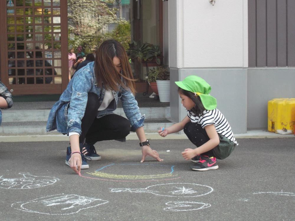 5月11日 保育参加 その3 (3.4歳児 たんぽぽ組.すみれ組)