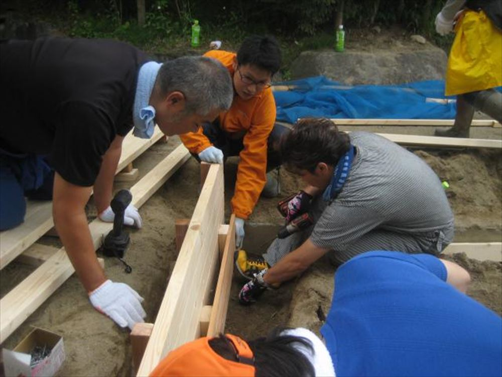 園庭プロジェクト ~砂場~
