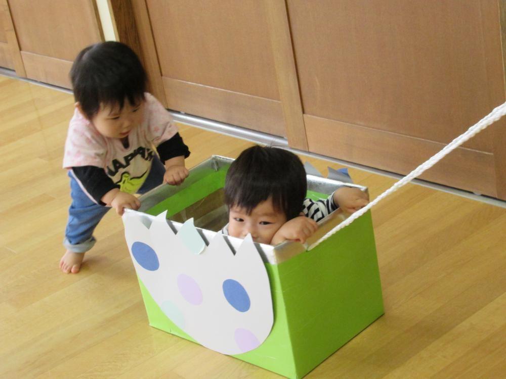 0歳児 こうめ組 室内遊び