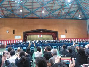 第101回初任科短期課程卒業式