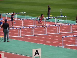 山形県中学校総合体育大会 陸上競技大会