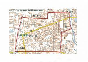 登記所備付地図作成/