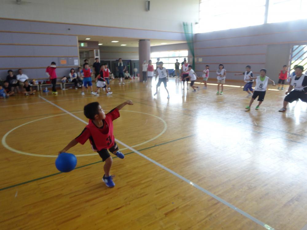 【ドッジボール大会】開催しました。