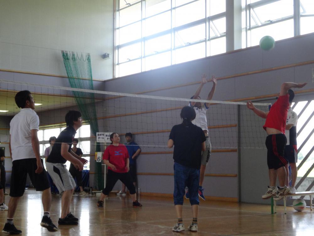 【バレーボール大会】開催しました。