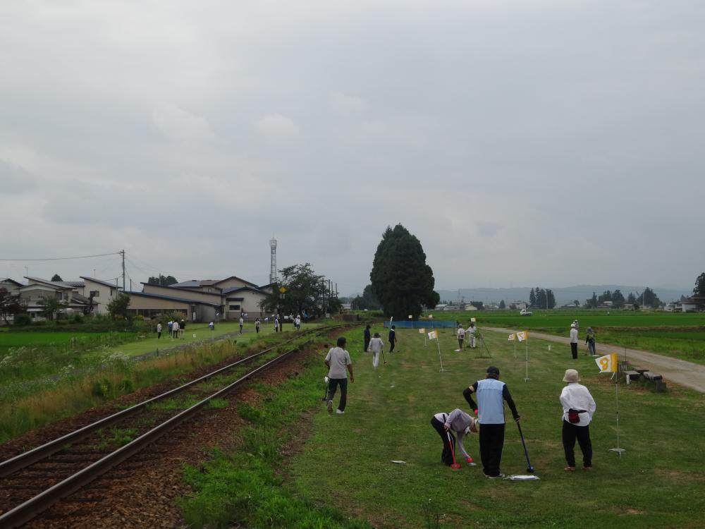【グラウンドゴルフ大会】開催しました。