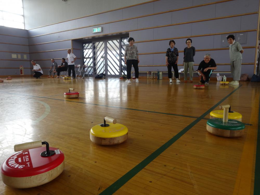 【アフロカーリング練習会Part2】《床の上のカーリング》