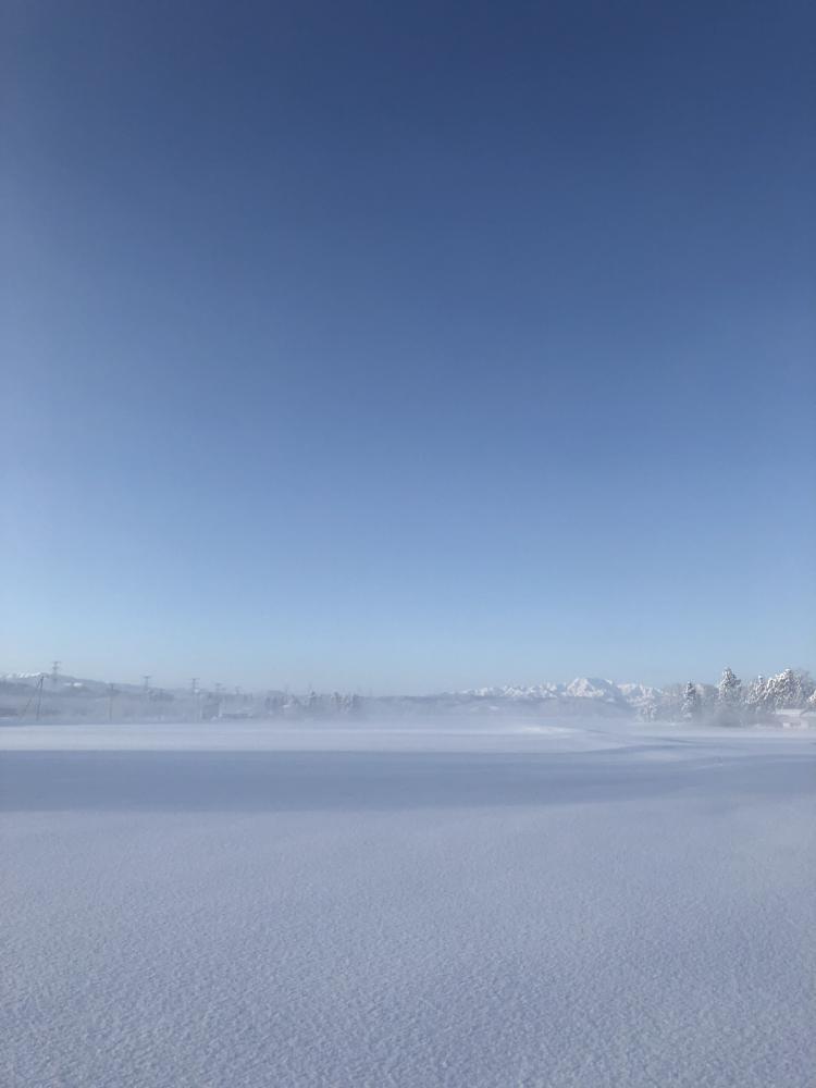 豊田の冬景色