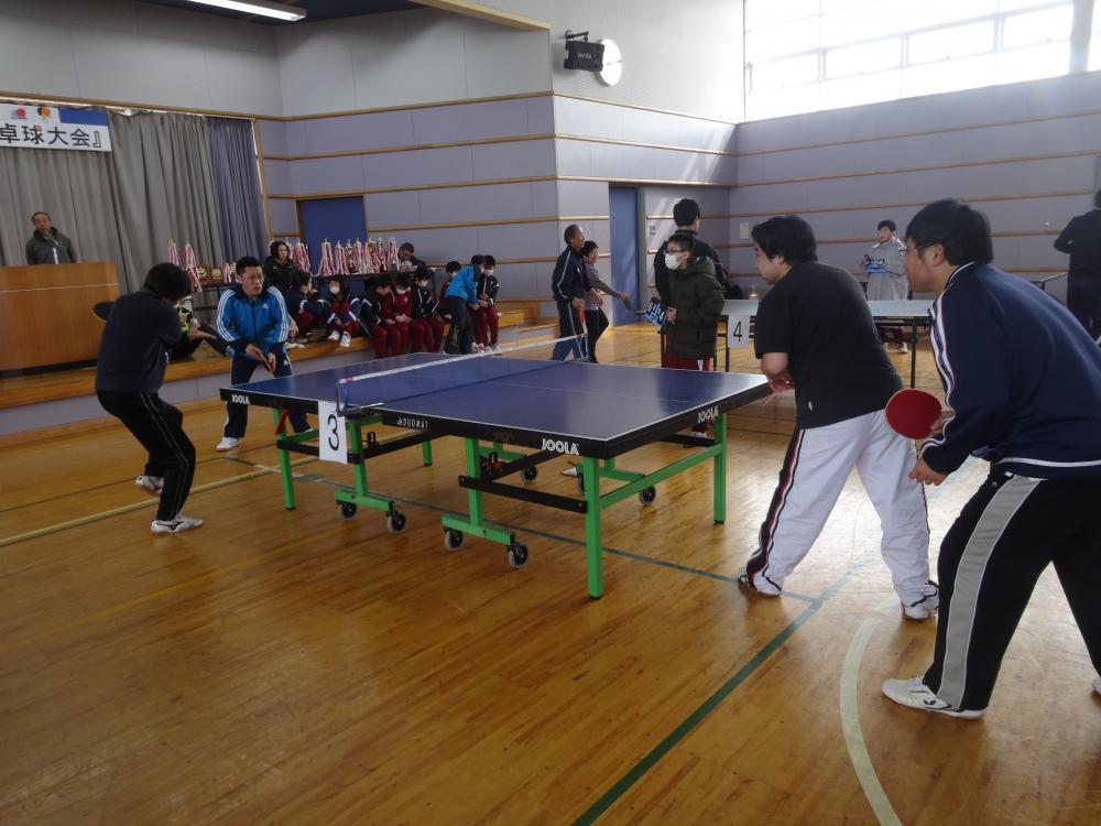 【第37回豊田地区卓球大会】開催しました。:画像