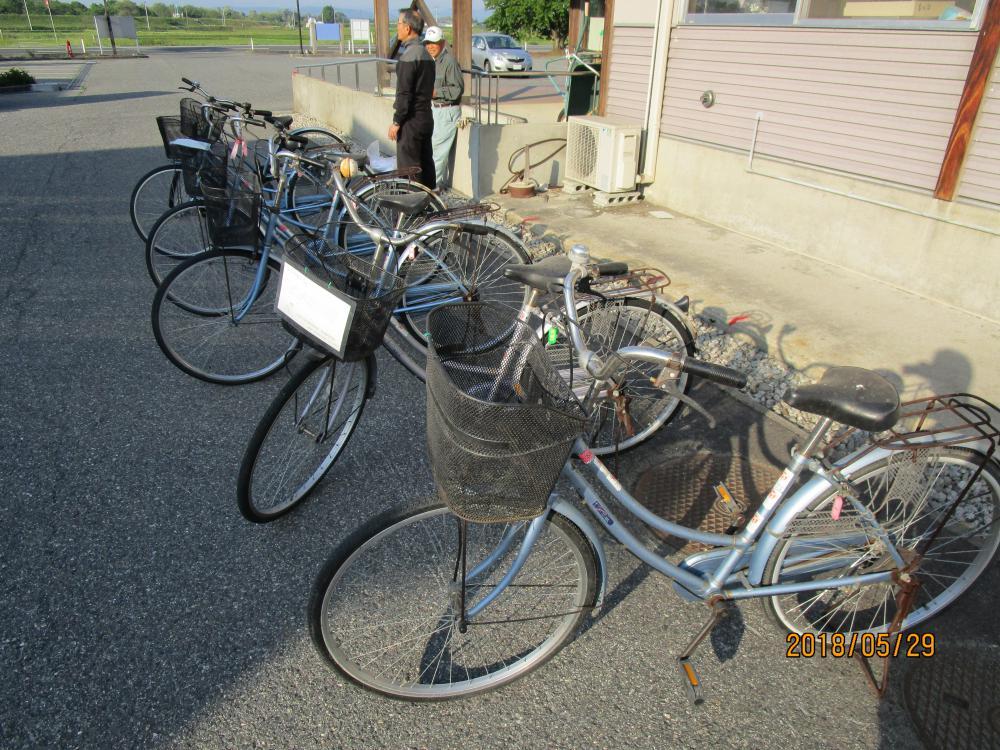 【レンタサイクル自転車整備】:画像