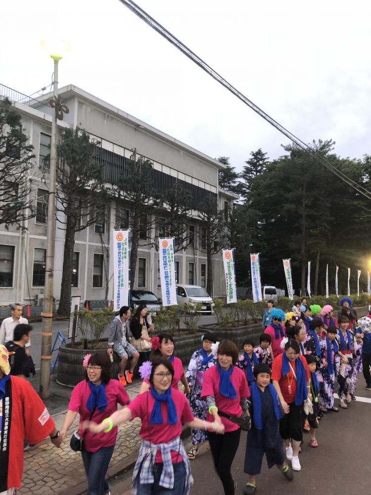 【長井おどり大パレード】参加しました。:画像