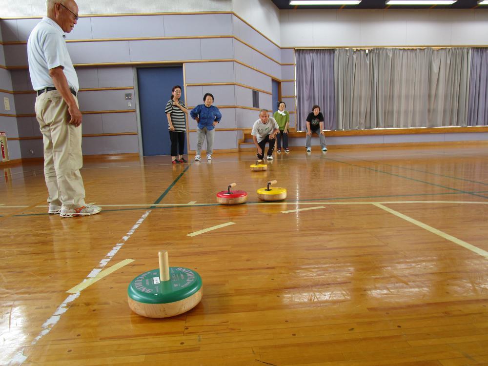 豊田地区【いきいき学級フロアカーリング練習会】:画像