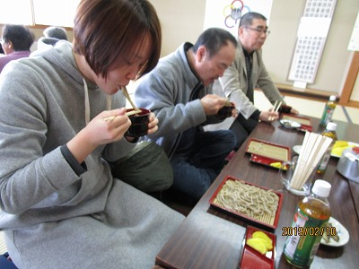 豊田地区【冬の食事会(蕎麦を食べる会)】を開催しました。:画像