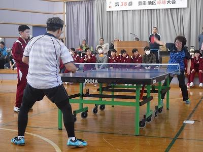 豊田地区【第38回豊田地区卓球大会】が開催されました。:画像