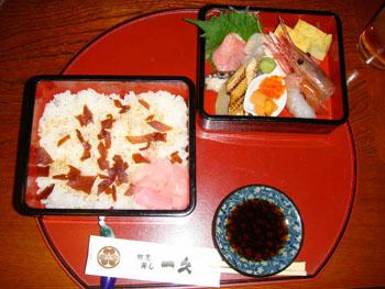 特上ちらし寿司:画像
