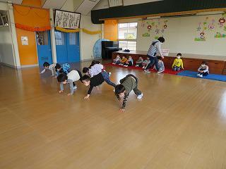 4月17日 体育教室・英語であそぼうが始まりました/